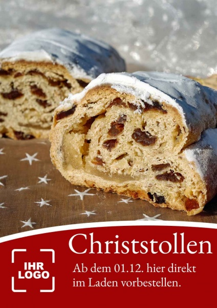 Poster Christstollen