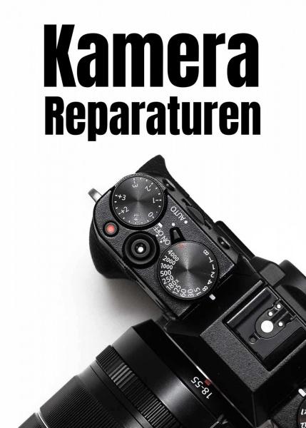 Poster Kamera Reparatur 50x70 cm