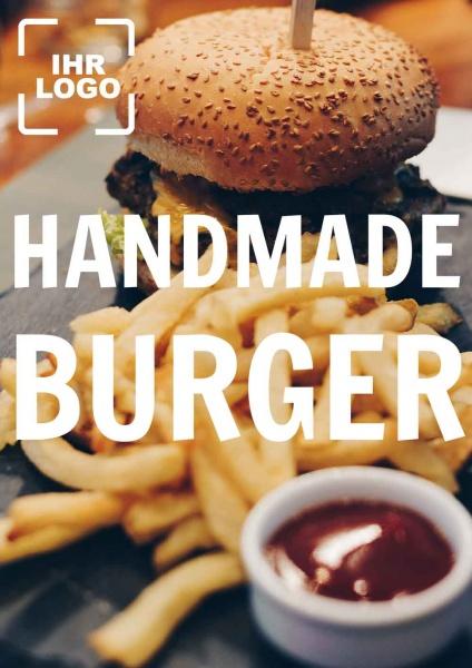 Poster Handmade Burger
