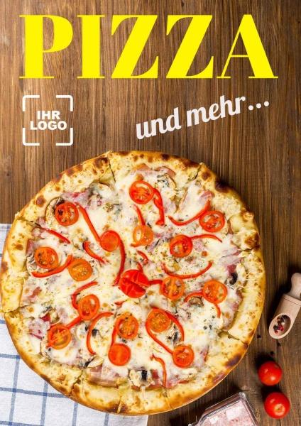 Poster Pizza und mehr