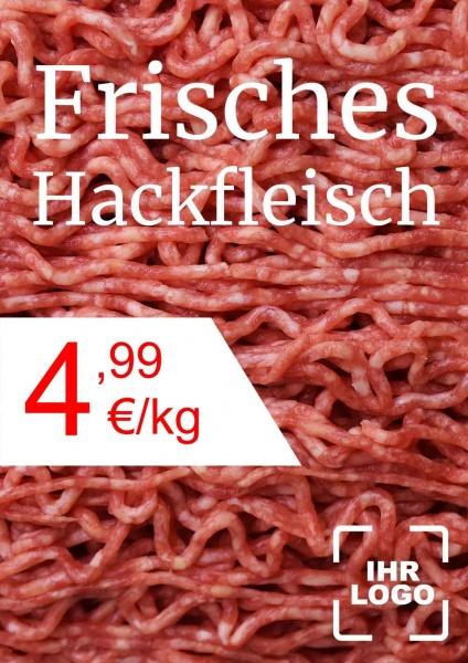 Poster Hackfleisch
