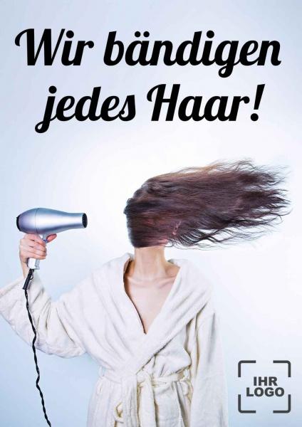 Poster Friseur jedes Haar