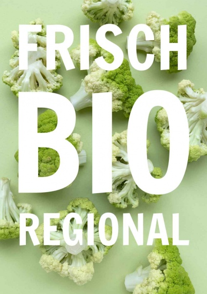 Poster Frisch Bio Regional
