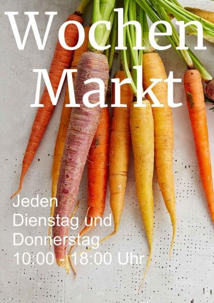 Poster Gemüse Wochen Markt 50x70 cm