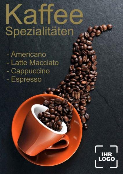 Poster Kaffee Spezialitäten