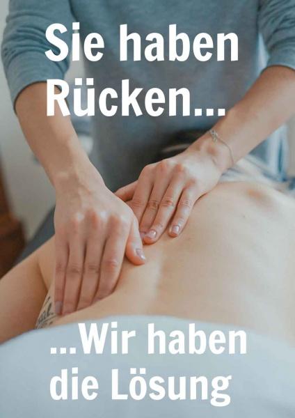 Poster Rückenschmerzen