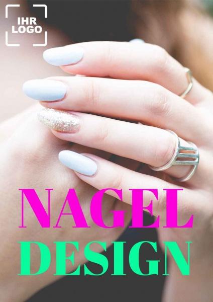 Poster Nagel-Design