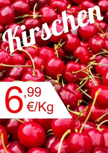 Poster Obst Kirschen