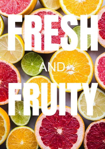 Poster Fresh and Fruity