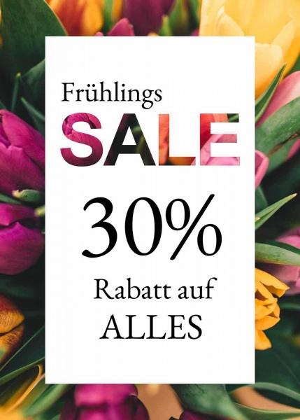 Poster Sale Frühling