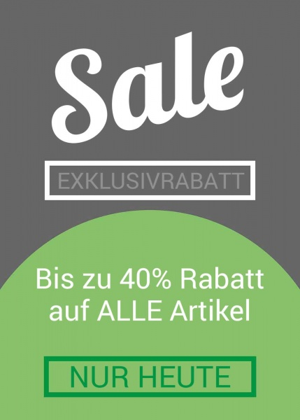 Poster Exklusive Sale