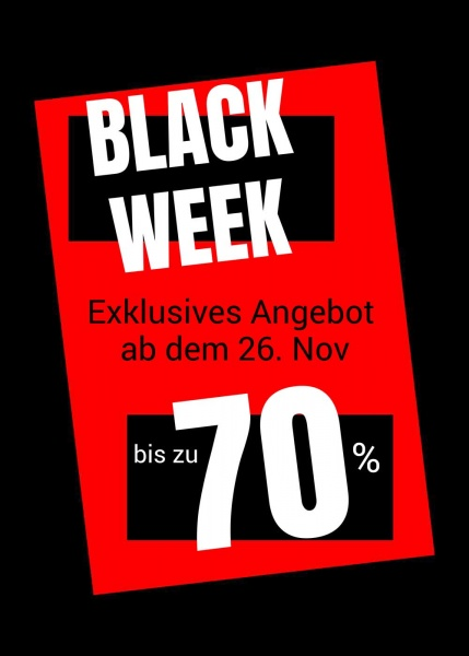 Poster Black Week Sale