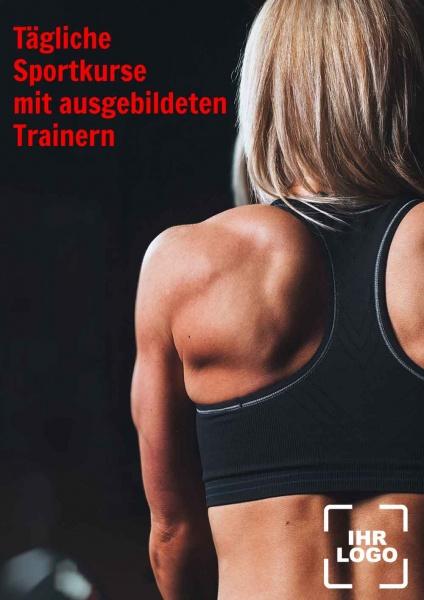 Poster Sportkurse