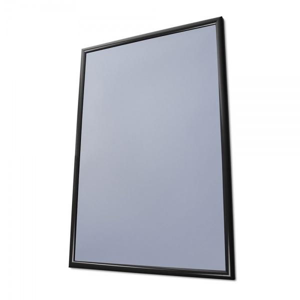 Klapprahmen Color, 25 mm 59,4x84,1 cm (A1) | Tiefschwarz RAL 9005 | Antireflex-Folie