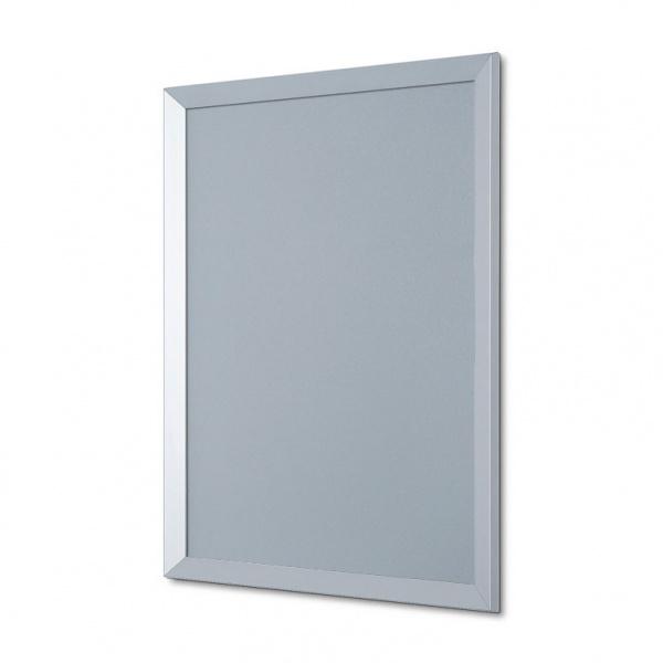 Klapprahmen TRIANGLE, 35 mm 50x70 cm | Ecken auf Gehrung | Antireflex-Folie
