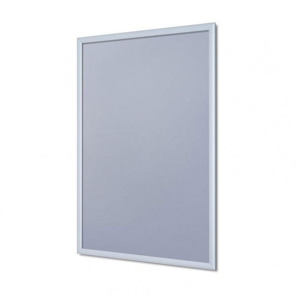 Klapprahmen, 20 mm 50x70 cm | Ecken auf Gehrung | Antireflex-Folie