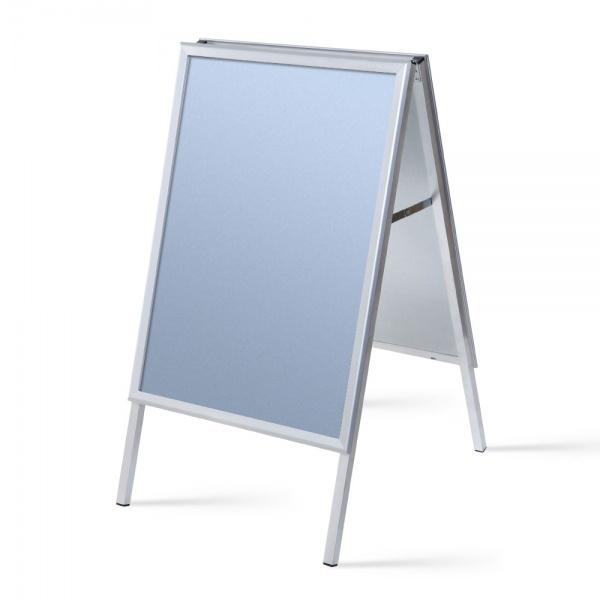 Kundenstopper Standard 32 mm 59,4x84,1 cm (A1) | Ecken auf Gehrung | Antireflex-Folie